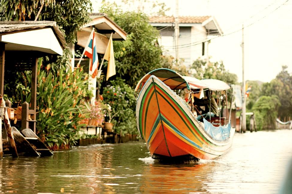 Chao Phraya-elven, Bangkok