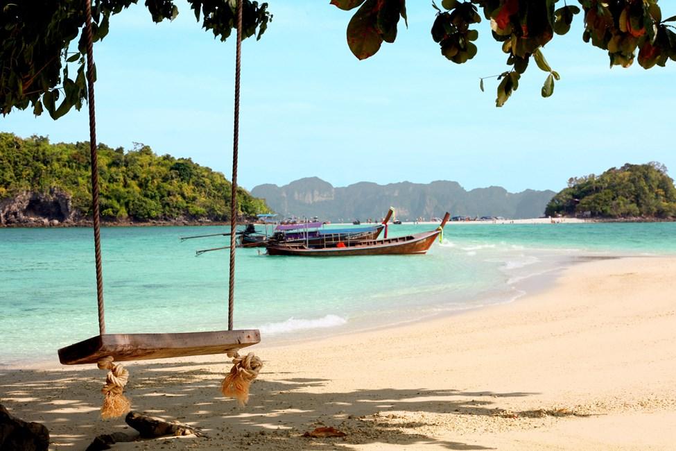 Chicken Island og Tub Island, båttur fra Klong Muang eller Ao Nang