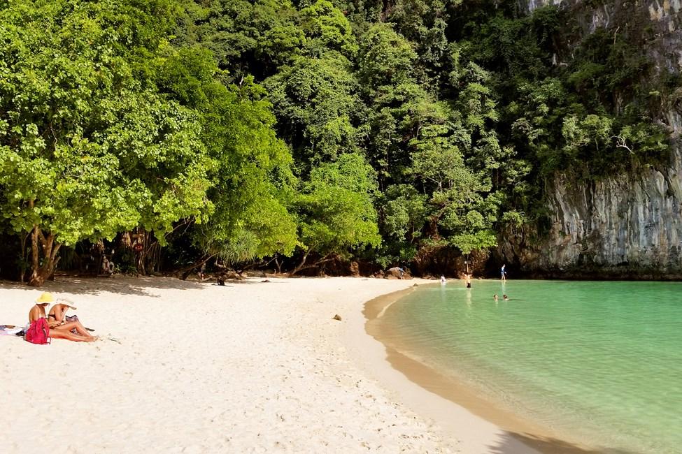 Hong Island, båttur fra Klong Muang eller Ao Nang
