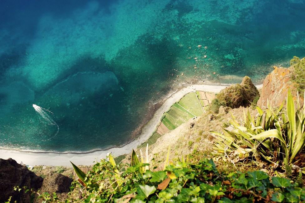 Utsikt fra Cabo Girao Maderia