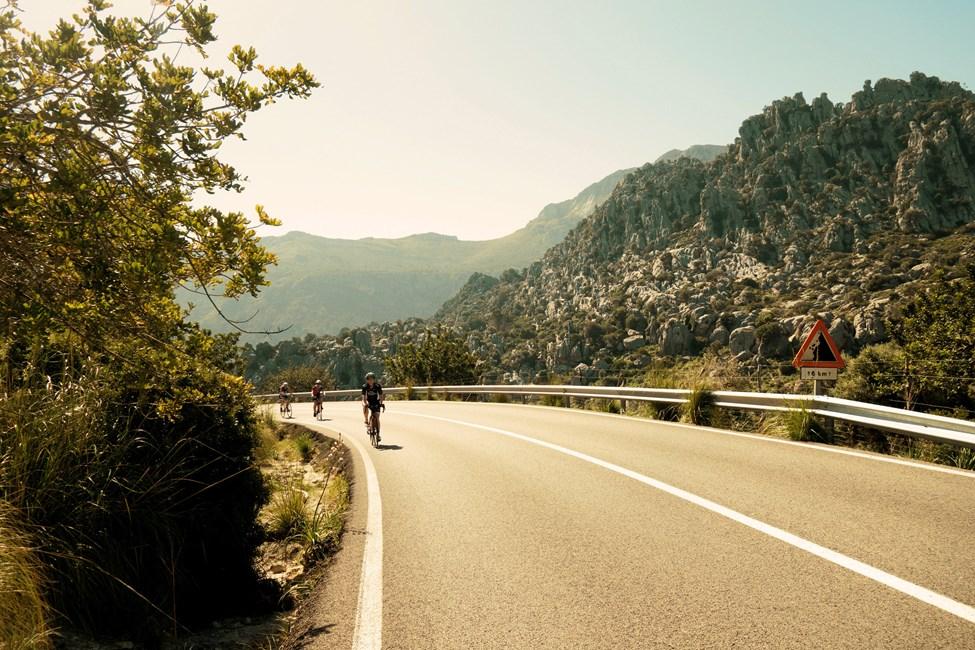 Triathlontrening på Mallorca