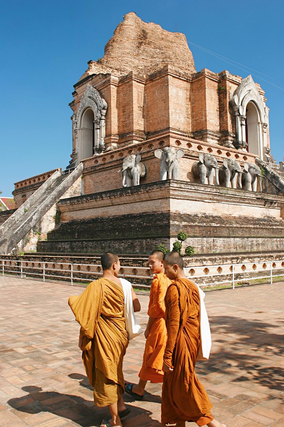 Chedi Luang Temple, Chiang Mai