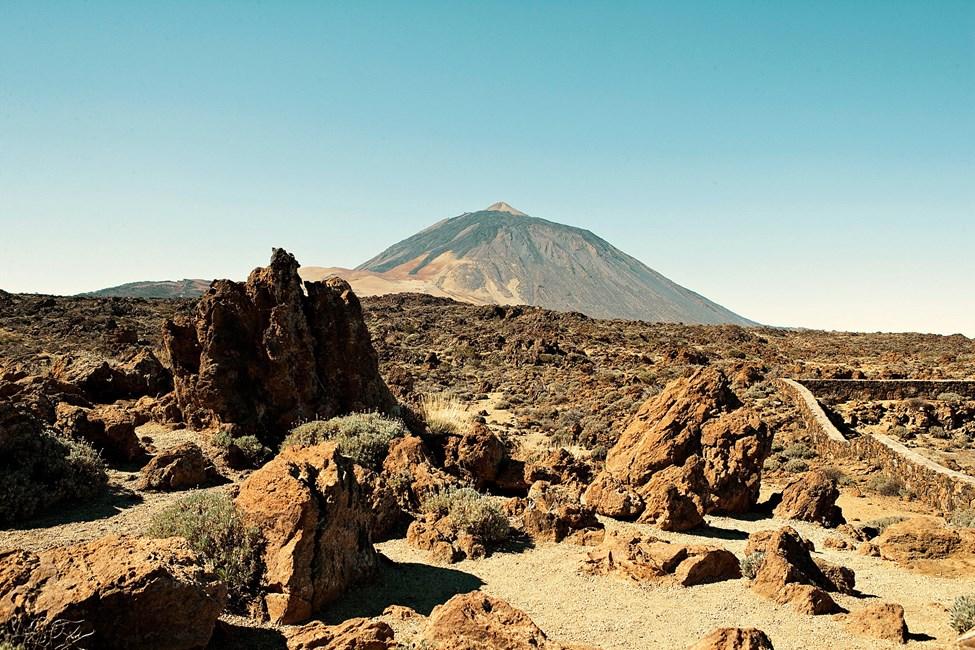 Fra området rundt Teide