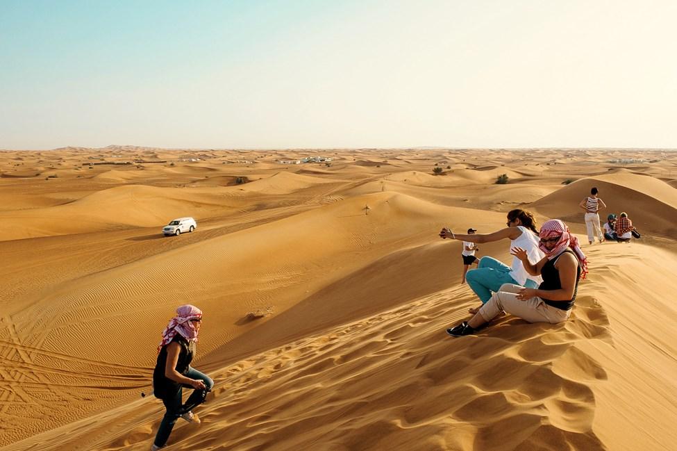Ørkensafari, Dubai