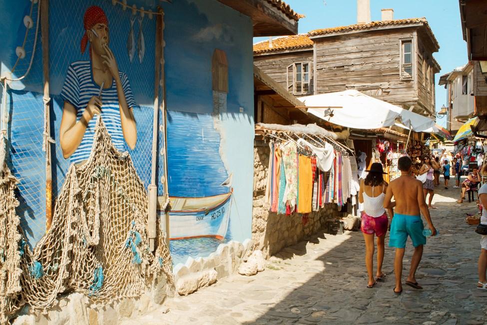 Nessebar står på UNESCOs verdensarvliste
