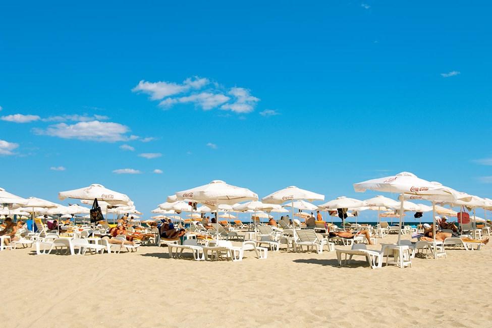 Stranden i Albena