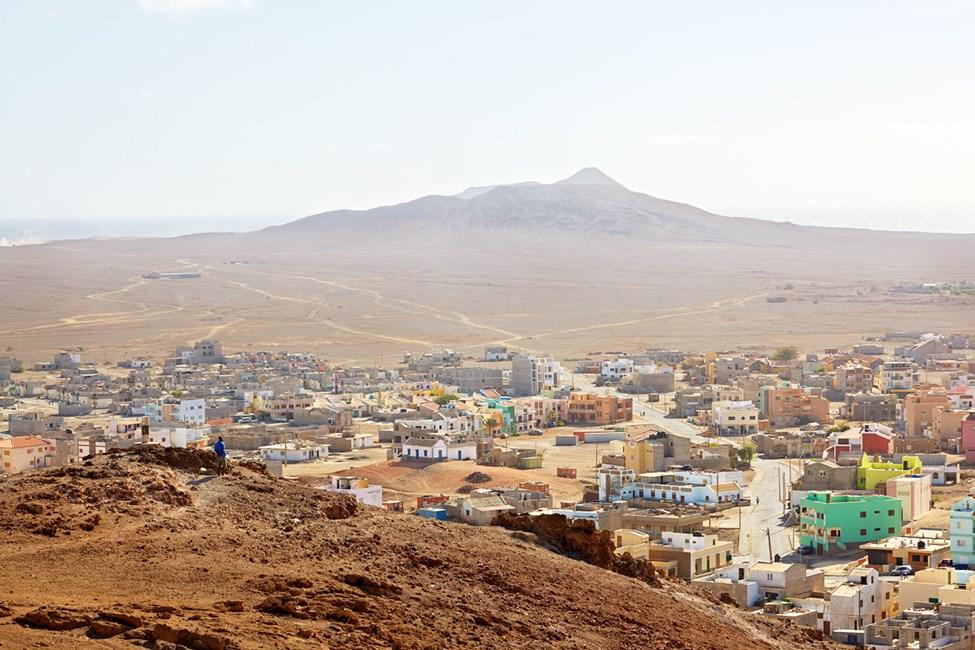 Hovedstaden Espargos på Sal