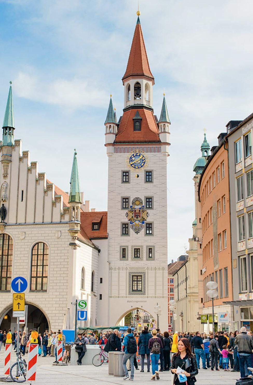 Altes Rathaus på Marienplatz, München