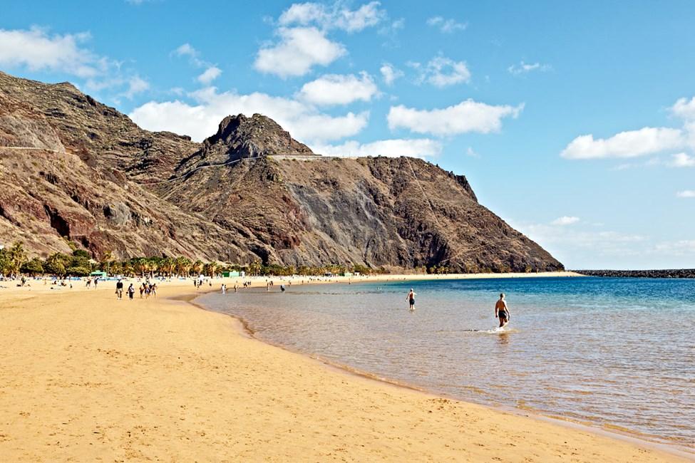 Santa Cruz, Playa De Las Teresitas, Tenerife