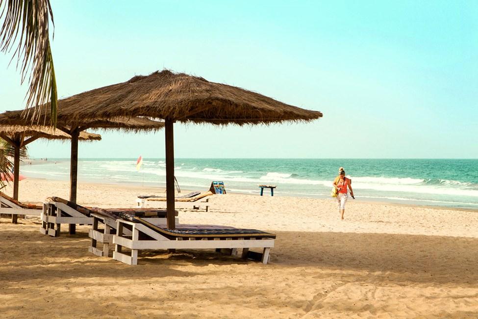 Stranden nedenfor smartline Palma Rima