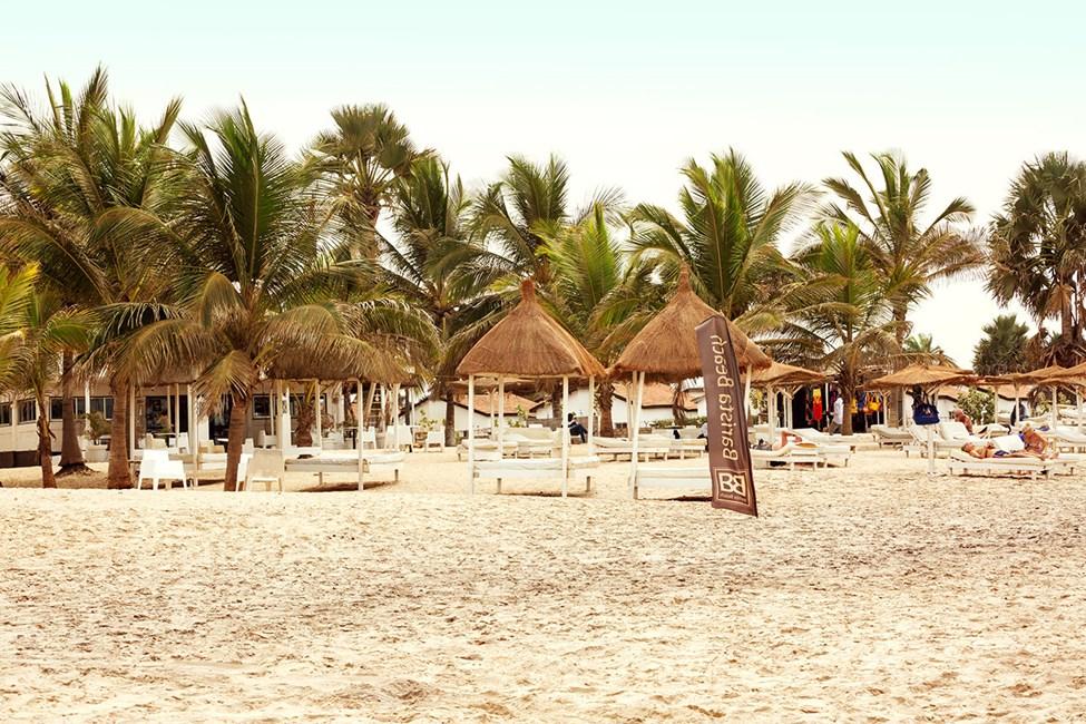 Uteservering på stranden