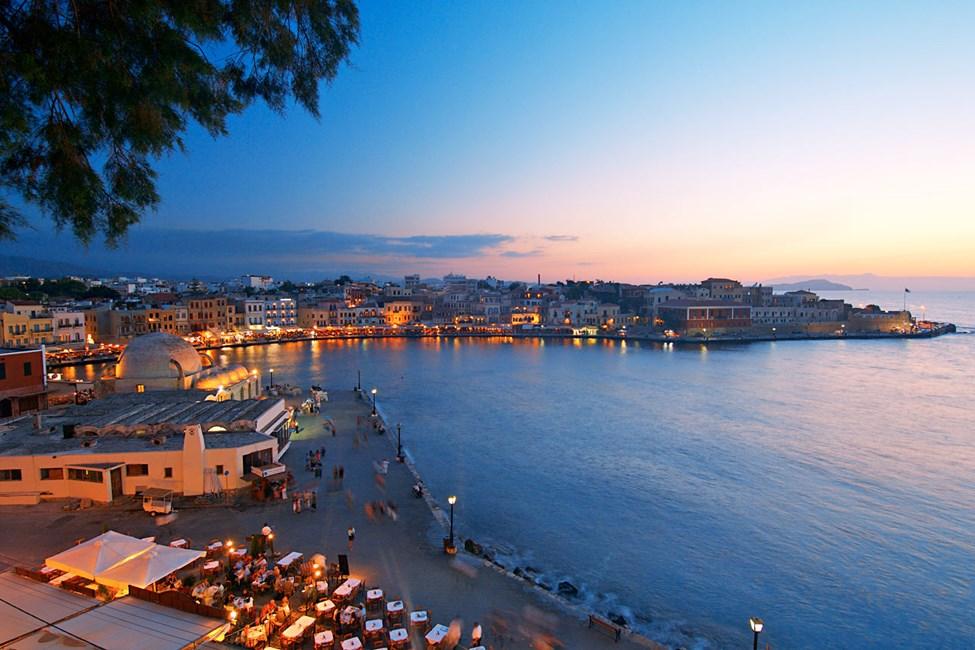 Chania by, Kreta