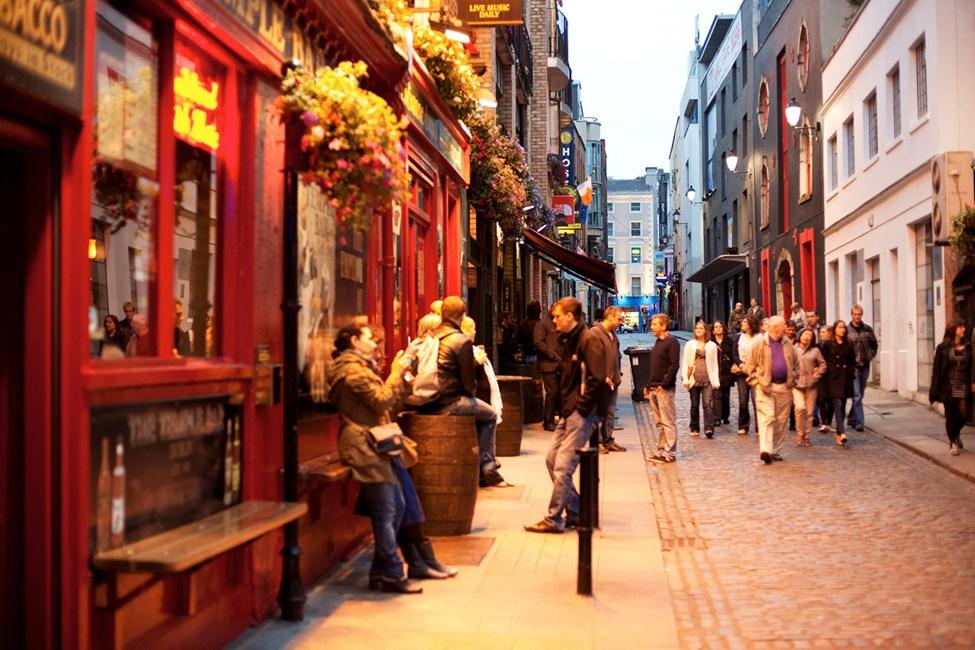 Barområdet Temple Bar, Dublin