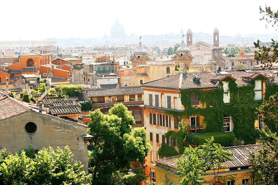Roma sett fra Spansketrappen