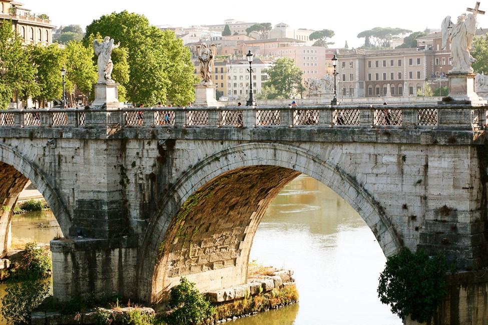 Broen ved Castel Sant'Angelo, Roma