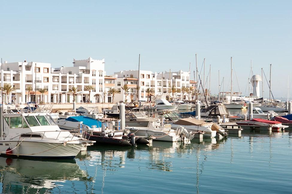 Marinaen i Agadir