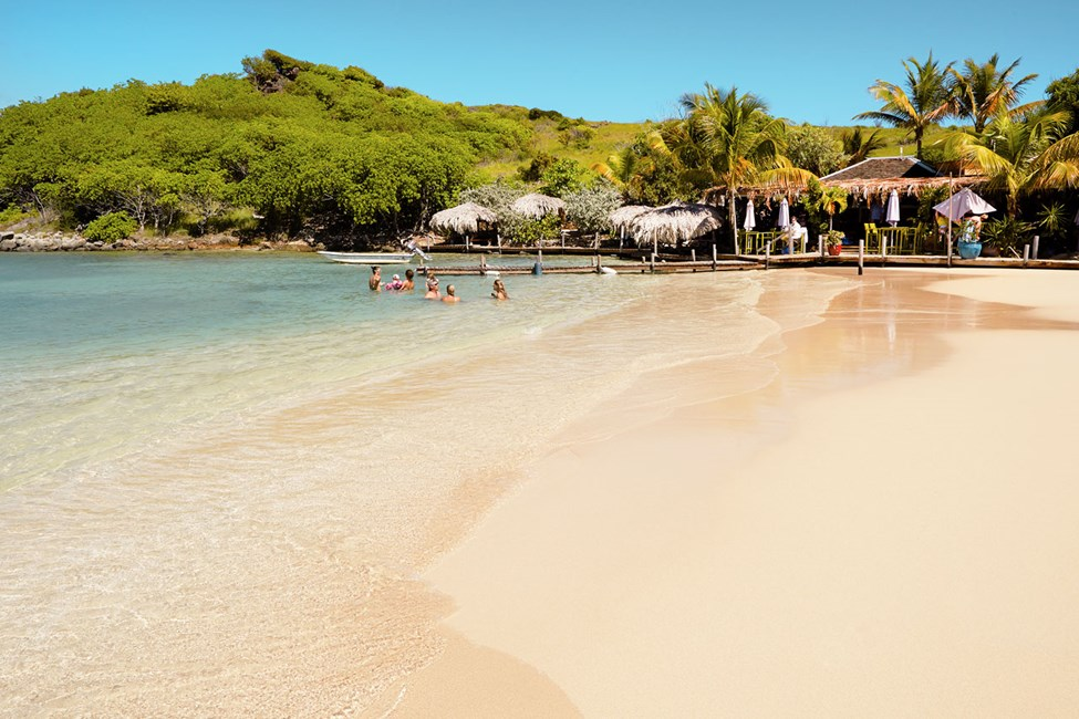 Pinel Island ved Orient Bay