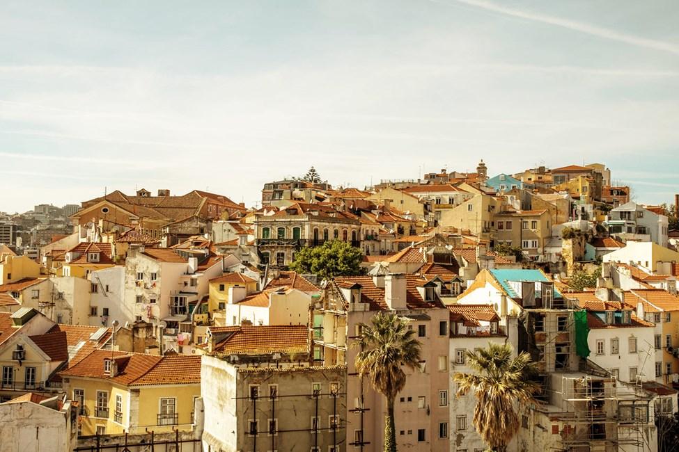 Utsikt over Lisboa