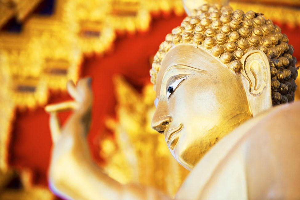 Khao Lak, Wat Laek Kaen-tempelet