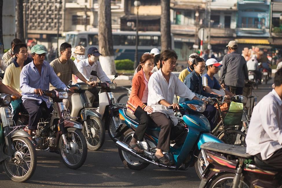Saigon, (Ho Chi Min City), Vietnam