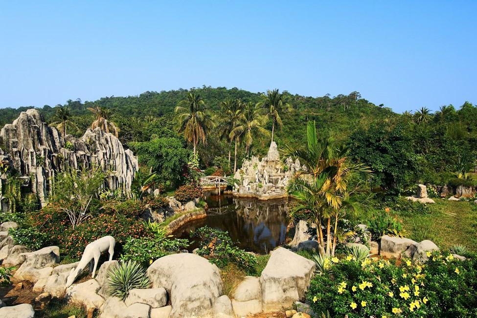 Varme kilder på øya Suoi Chanh Phu Quoc, Vietnam