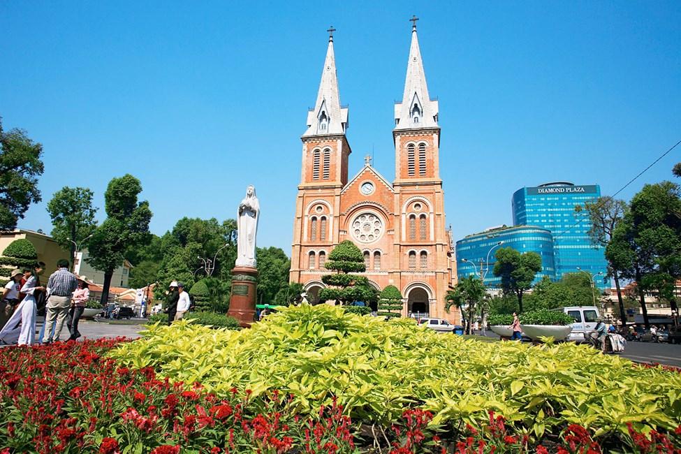 Notre Dame Cathedral, Saigon (Ho Chi Min City), Vietnam