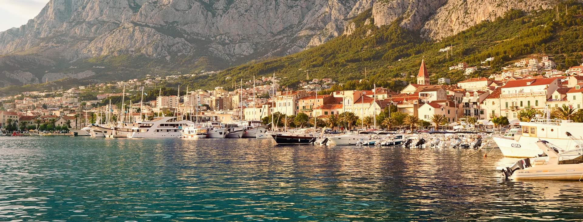 Bestill en reise med fly og hotell til Kroatia