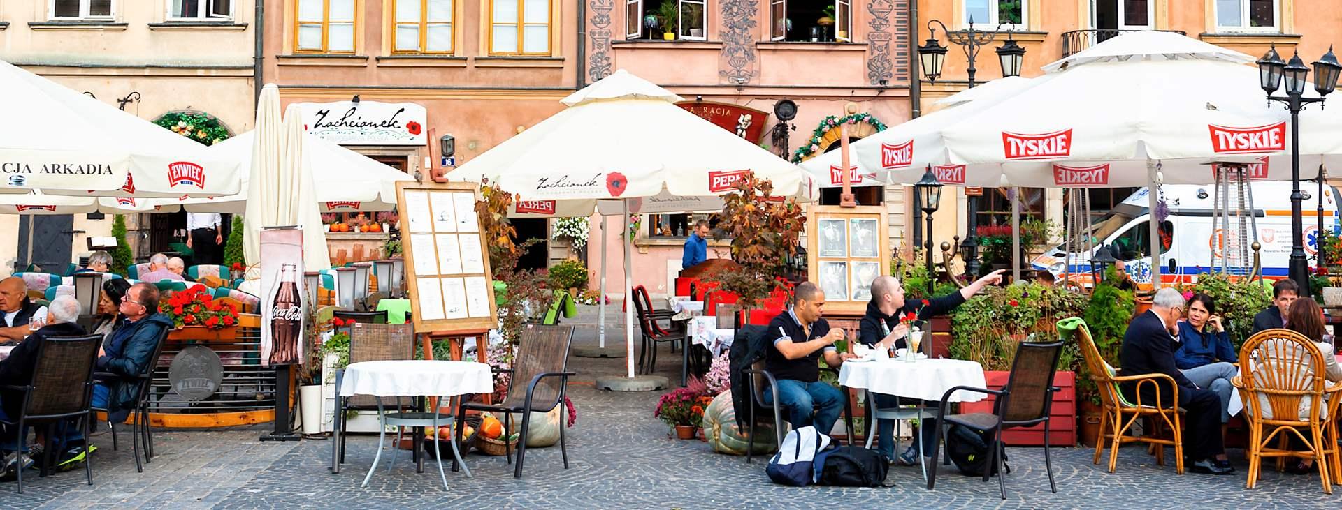 Bestill en reise med fly og hotell til Polen