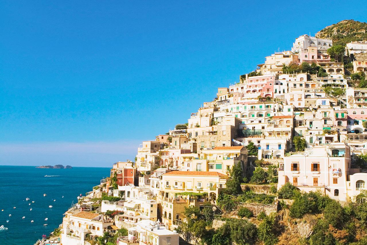 7-netters cruise i vestlige Middelhavet - Positano, Italia
