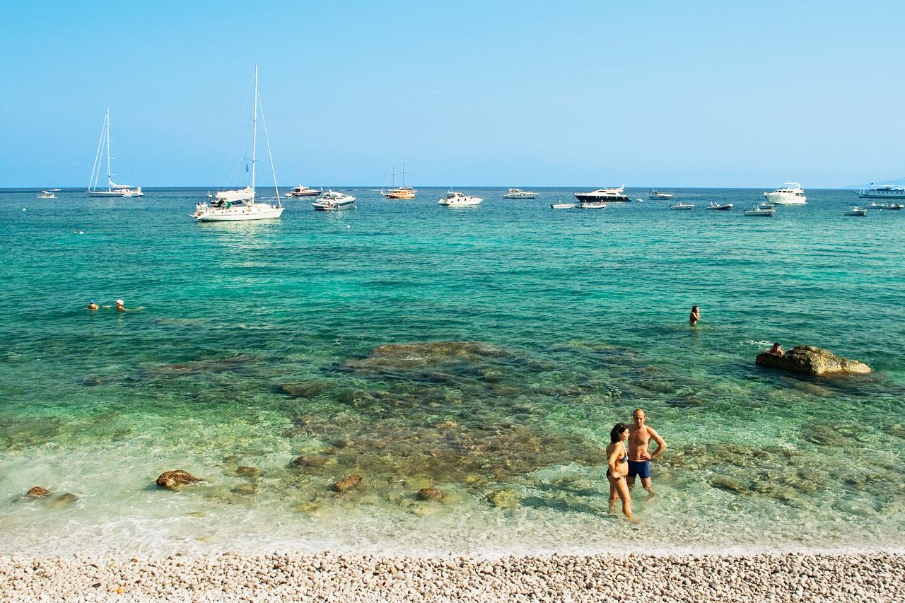 7-netters cruise i vestlige Middelhavet - Capri, Italia