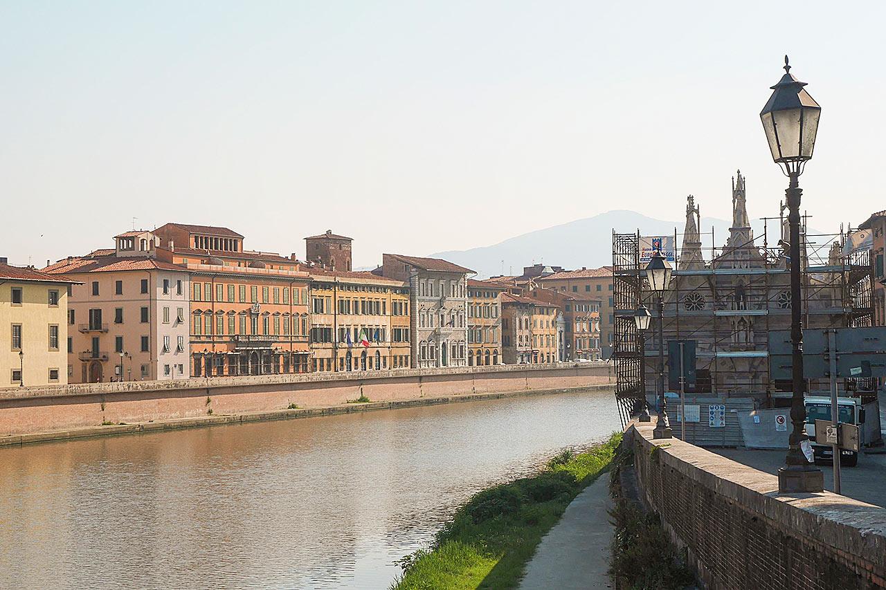 7-netters cruise i vestlige Middelhavet - Pisa, Italia