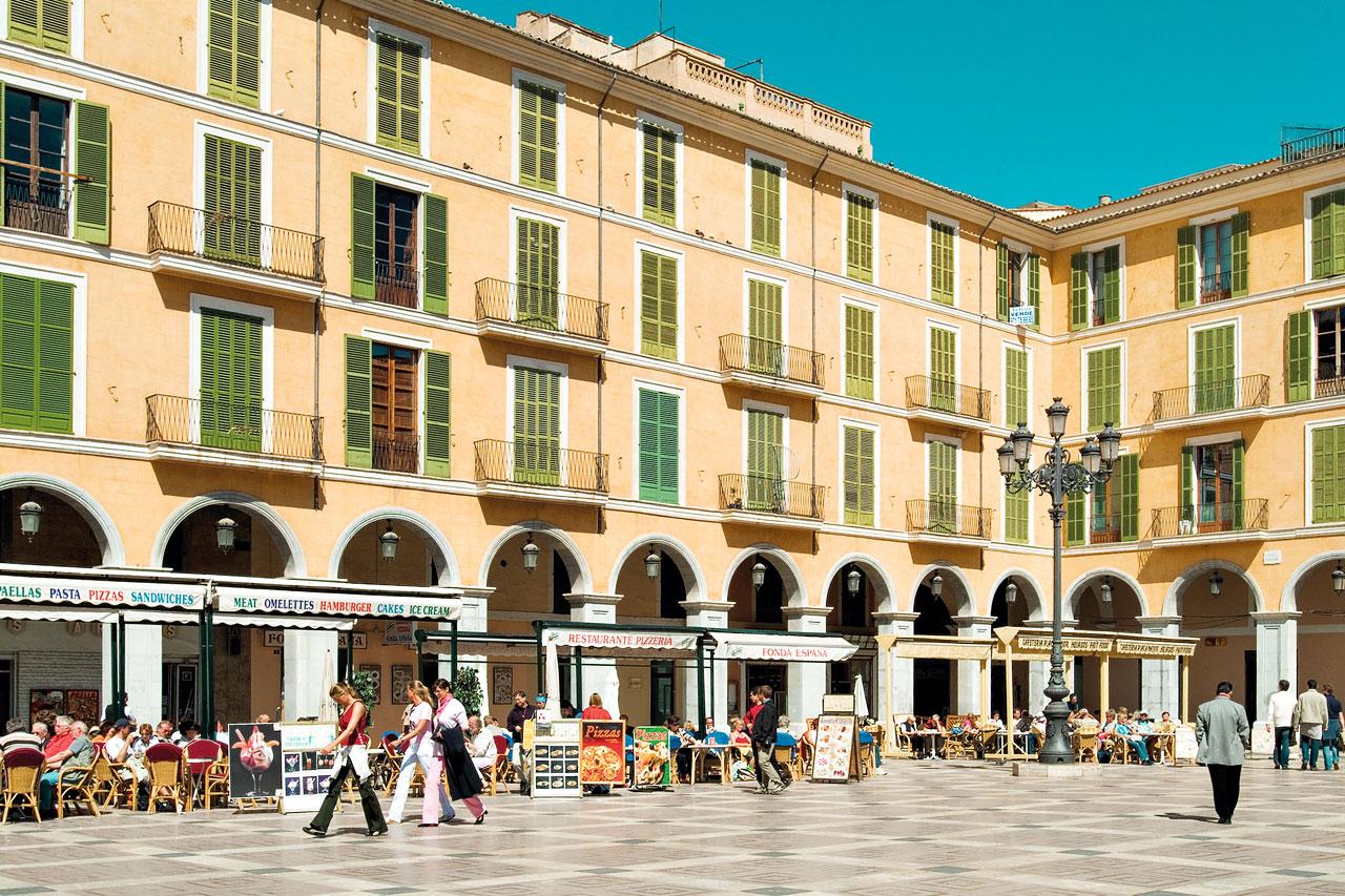 7-netters cruise i Middelhavet - Palma by, Mallorca