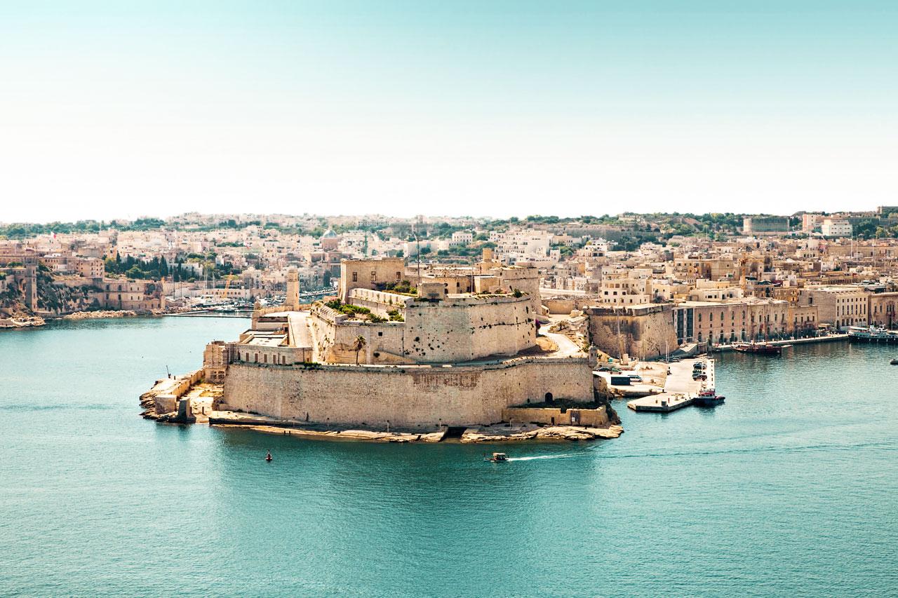 7-netters cruise i Middelhavet - Valletta, Malta