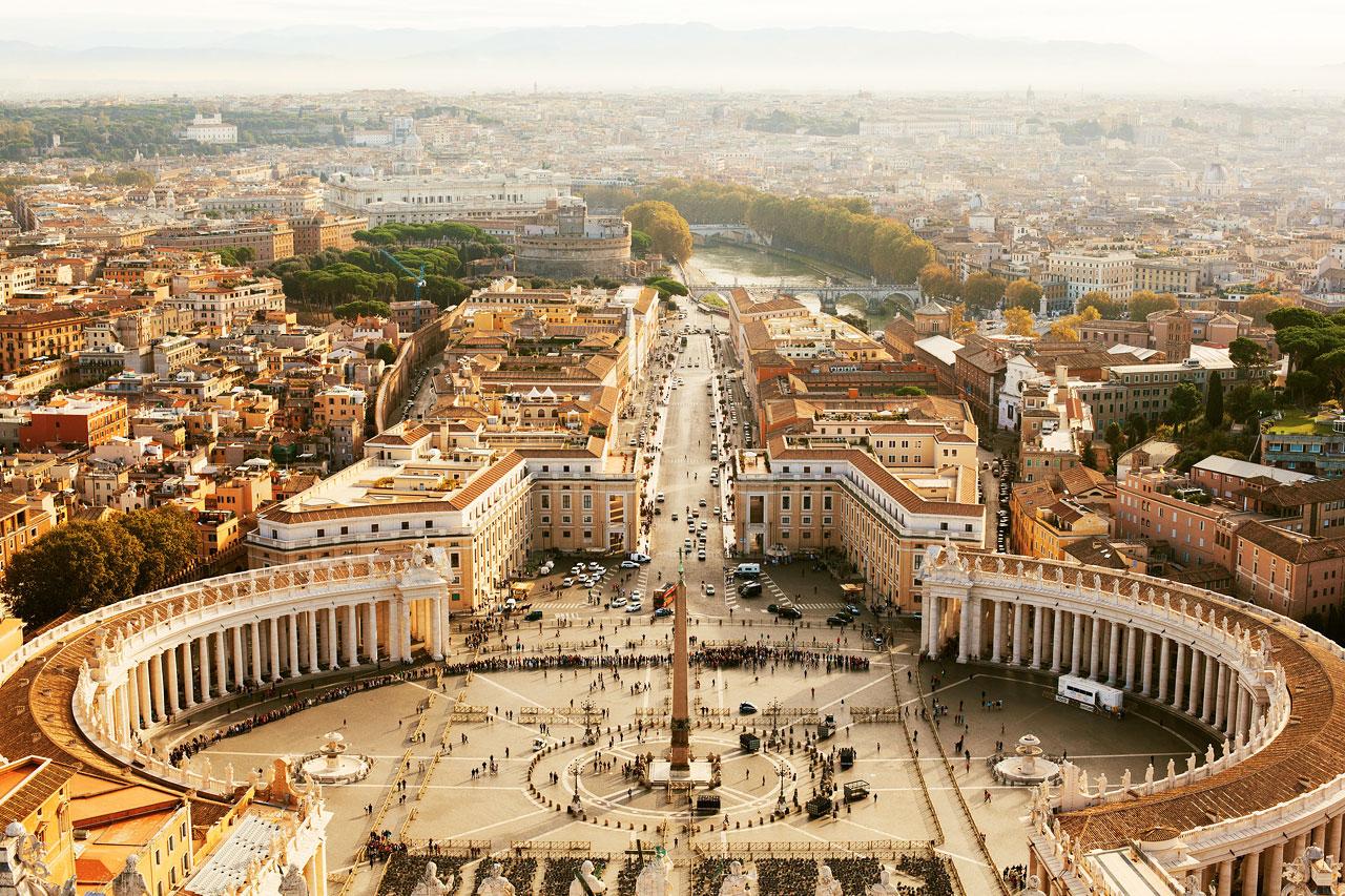 7-netters cruise i Middelhavet - Roma, Italia