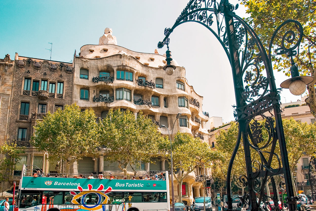 7-netters cruise i Middelhavet - Barcelona, Spania