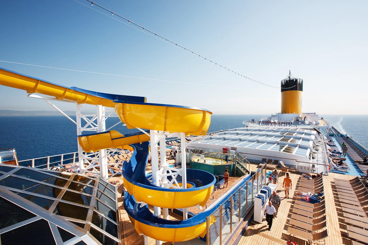 7-netters cruise i Middelhavet - Costa Pacifica