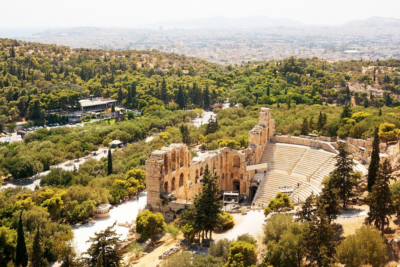 7-netters cruise greske øyer - Aten, Hellas