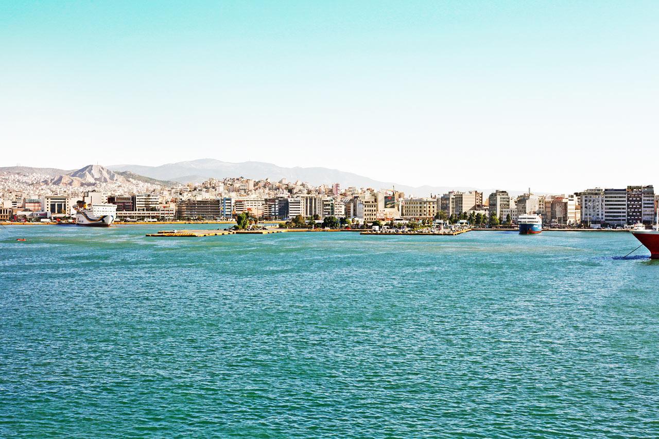 7-netters cruise greske øyer - Pireus, Hellas