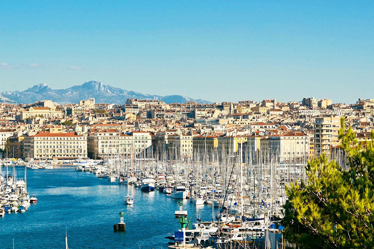 7-netters cruise i vestlige Middelhavet - Marseille, Frankrike