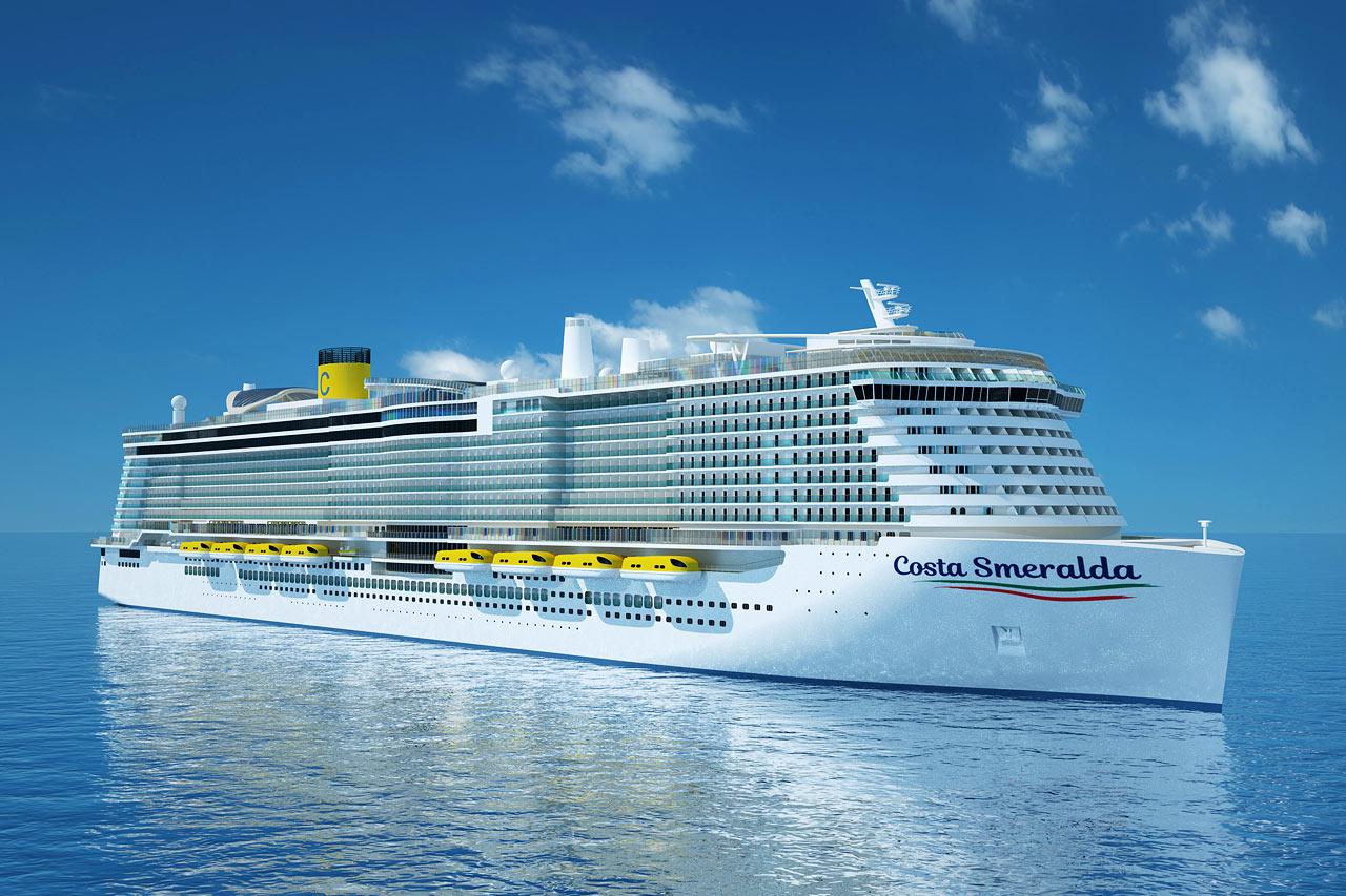 7-netters cruise i vestlige Middelhavet - Costa Smeralda – bildet er en illustrasjon