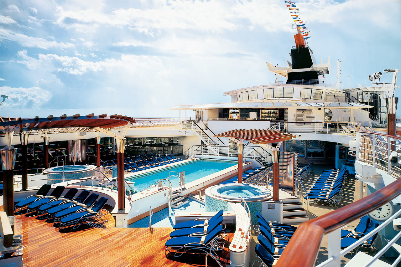 7-netters cruise til Bermuda - Celebrity Summit