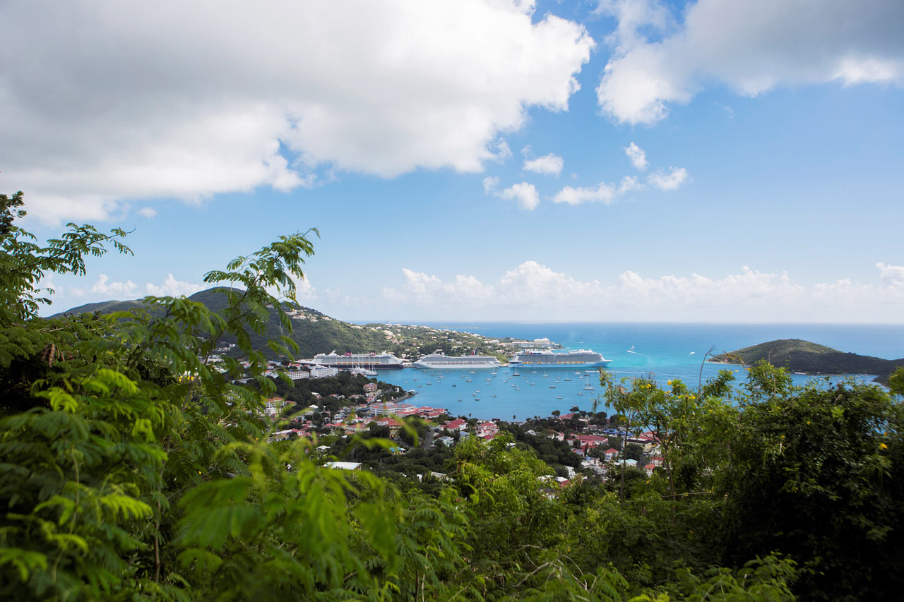 7-netters cruise i østlige Karibia - St. Thomas