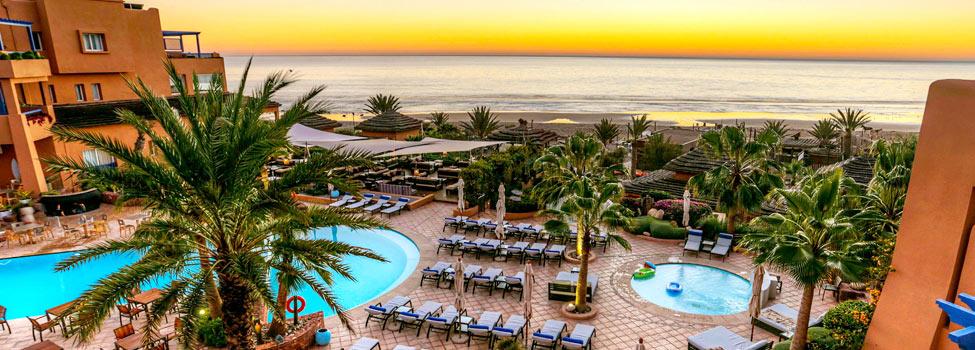 Paradis Plage Surf Yoga & Spa Resort, Taghazout, Marokko