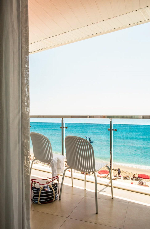 På Sunprime Alanya Beach har mange rom og suiter fin utsikt over havet