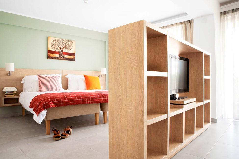 Classic Suite har har kombinert sove- og oppholdsrom og passer for deg som vil ha god plass