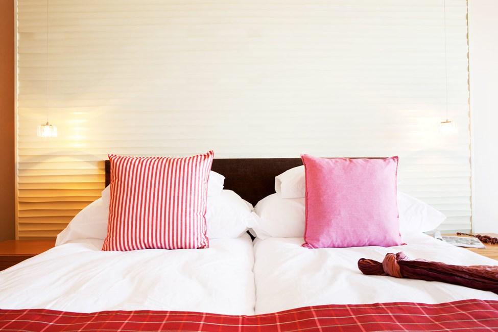 Classic Room er moderne innredede, lyse og luftige rom med balkong eller terrasse