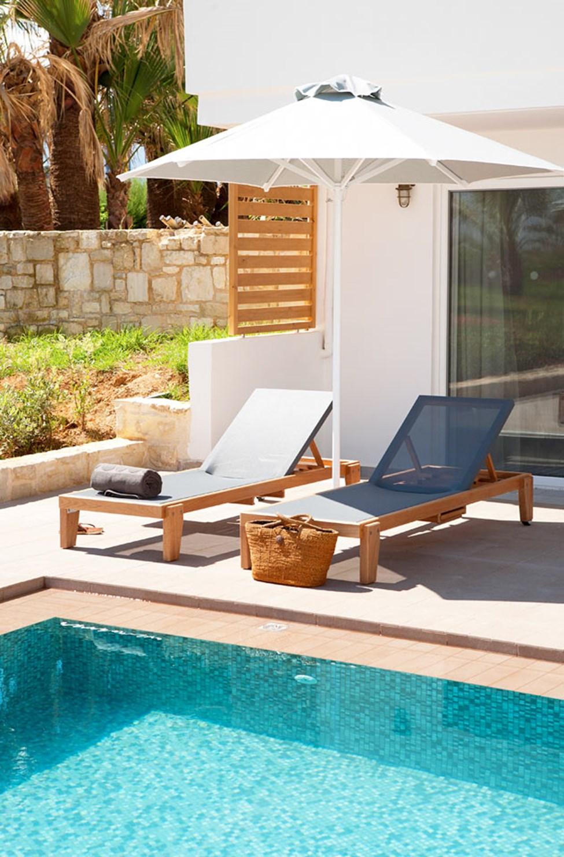 Classic Suite med Swim Out, terrasse med direkte utgang til basseng