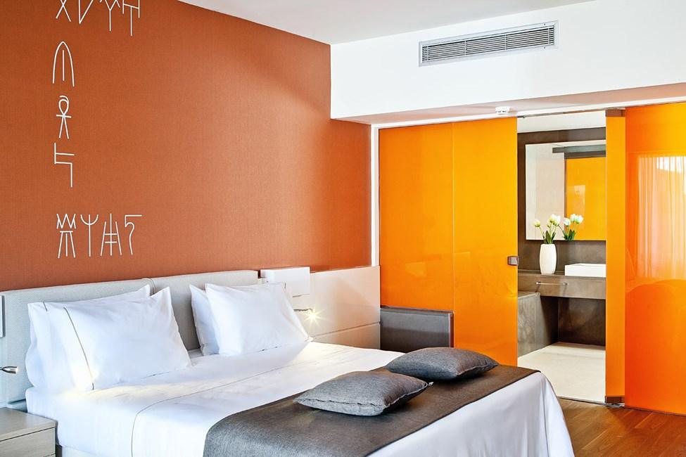 Dublettrom suite med privat basseng
