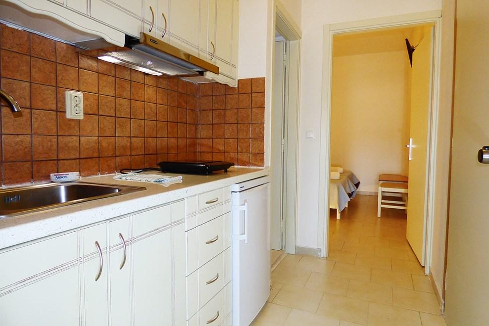 Kjøkkenkrok i 2-romsleilighet