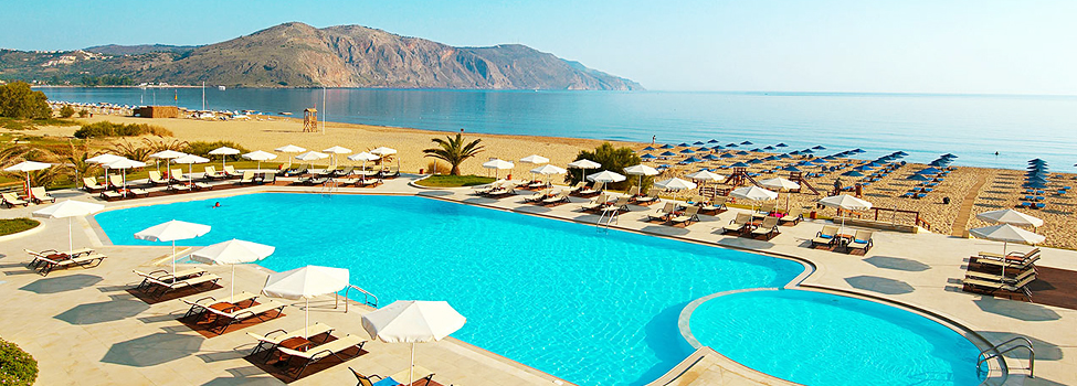 Pilot Beach, Georgioupolis, Kreta, Hellas
